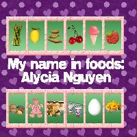 my name in photos