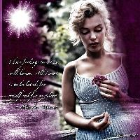 A Reflective Moment ~ Marilyn