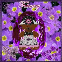 febuary birthstone and flower challenge
