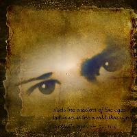 A childs eyes