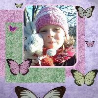 My little butterfly