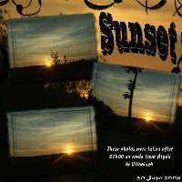 Sunset, Deutschland 30/06/2008