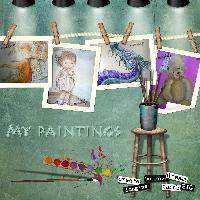 Paintings by Meddy