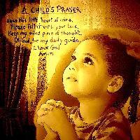A Child`s Prayer