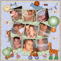 Tummy Tub Bath