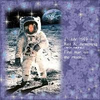 Me as Neil Armstrong