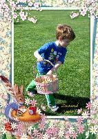Easter Egg Hunt Photo Cards