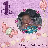 Lila's 1st Birthday