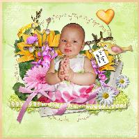 Angelina's First Easter
