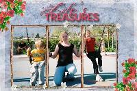 Randi and her kids