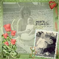 Hearts & Flowers for Joce