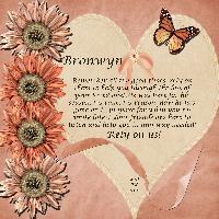 For Bronwyn
