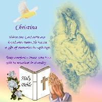 For Christina