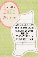 sisters baby shower invites