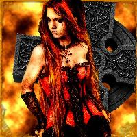 ~Victoria Frances, Red Basque~