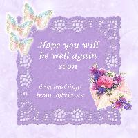 Get Well Card For Claudia