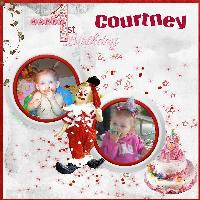 Courtney's 1st Birthday