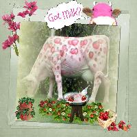 Pink Cow, Pink Milk? ? ?