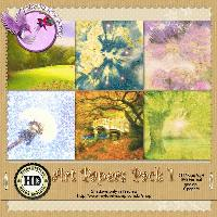 Arts Papers Pack 1 by Hilda Designs