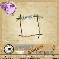 Sweet Garden Freebie by Hilda Designs