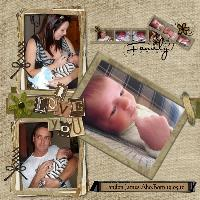 My page for Landon