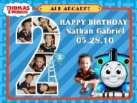 Gab's Choo-Choo Birthday