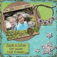 Jacob and Colton