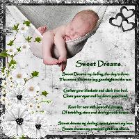 Sweet Dreams My Darling