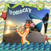 Hilda's vacation in Boracay