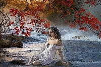 Woman at Sea.....