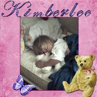 Kimberlee Sleeping With Her Babies