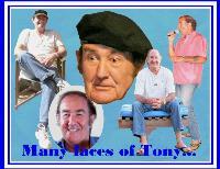 MANY FACES OF TONY