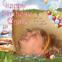 happy 3rd birthday Emily