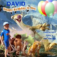 For David