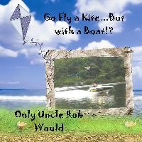Fly a Kite With a Boat
