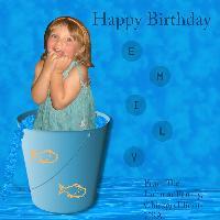 Emily's 3rd Birthday Card!