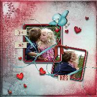 Megan & Job Kiss