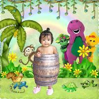 Iya in a Barrel
