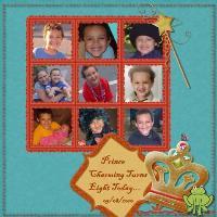 Happy 8th Birthday Bryce