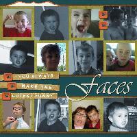 Kahlan's Faces