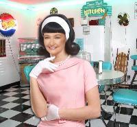 Annita in Her 50s Kitchen