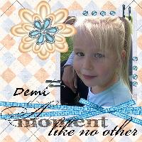 My  Granddaughter Demi