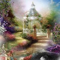where fairies live - garden