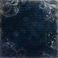 Blue Grunge Swirly