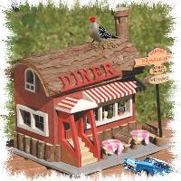 Old Time Diner Birdhouse