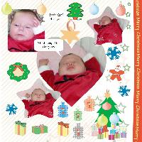 Shyanne's First Christmas 2008