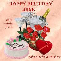 Happy Birthday June aka FERRO