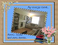 BOOKS IN MY LIVING ROOM