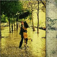 Dance in the Rain Embossed