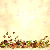 *** Autumn Background ***